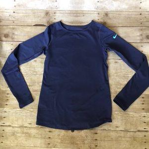 Girls XL Nike long sleeved shirt